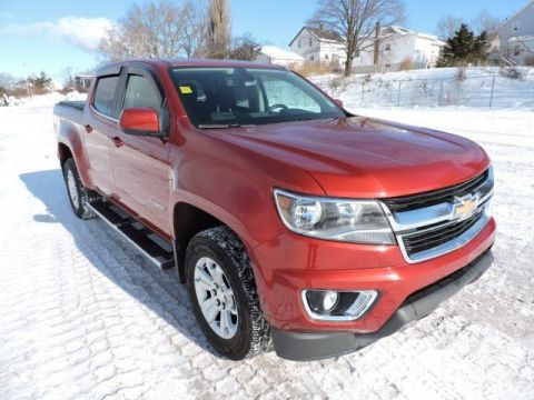 Pre-Owned 2015 Chevrolet Colorado 4WD LT 4WD Crew Cab Pickup